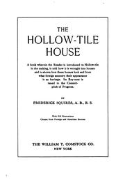 Cover of: The hollow-tile house