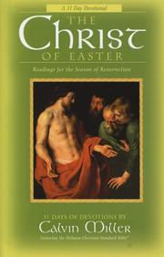Cover of: The Christ of Easter