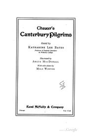 Cover of: Chaucer's Canterbury pilgrims