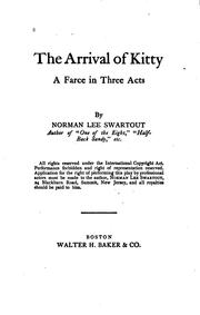 Cover of: The arrival of Kitty