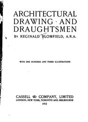 Cover of: Architectural drawing and draughtsmen