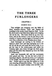 Cover of: The three furlongers