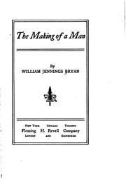 Cover of: The making of a man