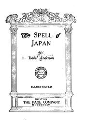 Cover of: The spell of Japan