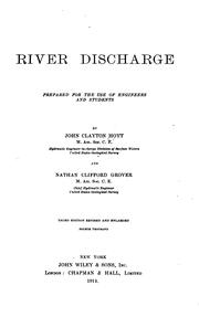 Cover of: River discharge