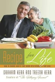 Cover of: Recipe for life