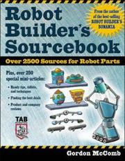 Cover of: Robot Builder's Sourcebook