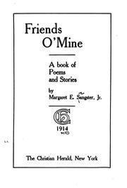 Cover of: Friends o' mine