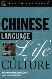 Cover of: Teach Yourself Chinese Language, Life, and Culture | Kenneth Wilkinson