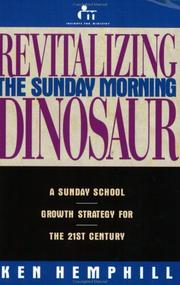 Cover of: Revitalizing the Sunday morning dinosaur