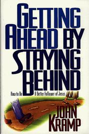 Cover of: Getting ahead by staying behind