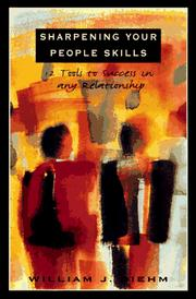 Cover of: Sharpening your people skills