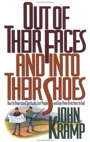 Cover of: Out of Their Faces and into Their Shoes | John Kramp