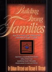 Cover of: Building strong families