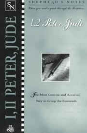 Cover of: 1,2 Peter, Jude | Dana Gould