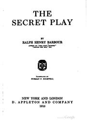 Cover of: The secret play