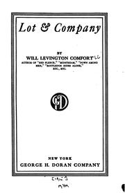 Cover of: Lot & company
