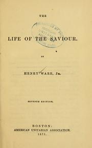 Cover of: The life of the Saviour