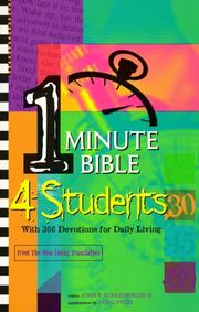 Cover of: One-Minute Bible 4 Students: With 366 Devotions for Daily Living