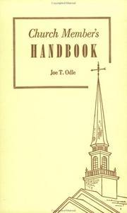 Cover of: Church Member's Handbook
