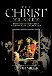 Cover of: The Christ We Knew