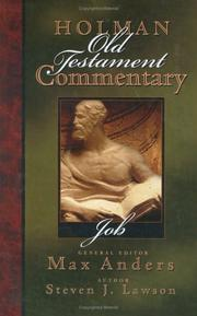 Cover of: Holman Old Testament Commentary