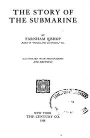 Cover of: The story of the submarine | Farnham Bishop