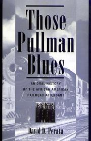 Cover of: Those Pullman blues