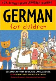 Cover of: German for Children (Language for Children Series) (Paperback and Audio Cd