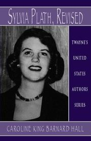 Cover of: United States Authors Series - Sylvia Plath | Hall