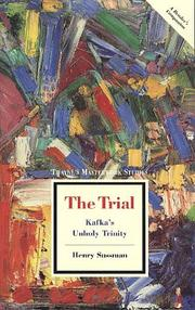 Cover of: The Trial | Henry Sussman