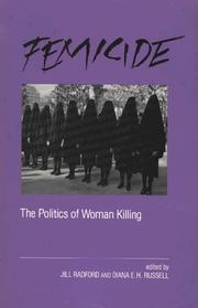 Cover of: Femicide | Jill Radford