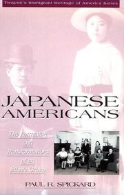 Cover of: Japanese Americans