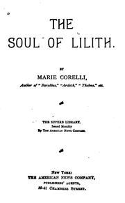 Cover of: The soul of Lilith