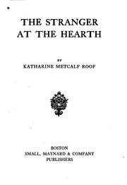 Cover of: The stranger at the hearth