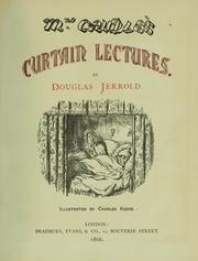 Cover of: Mrs. Caudle's curtain lectures