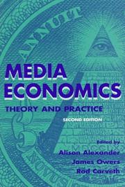 Cover of: Media Economics  | Rodney Carveth
