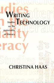 Cover of: Writing Technology | Christina Haas