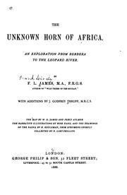 Cover of: The unknown horn of Africa