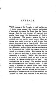 Cover of: The crusade of MCCCLXXXIII. | George McKinnon Wrong