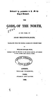 Cover of: The gods of the North | Adam Gottlob Oehlenschläger