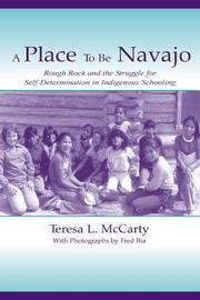 Cover of: A Place to Be Navajo