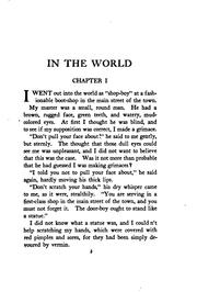 Cover of: In the World