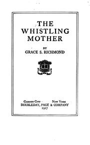 Cover of: The whistling mother