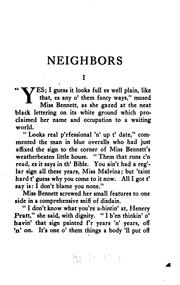 Cover of: Neighbors
