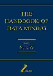 Cover of: The Handbook of Data Mining (Volume in the Human Factors and Ergonomics Series)