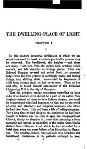 Cover of: The Dwelling Place of Light