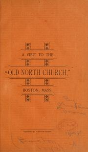 "A visit to the ""Old North Church,"" Boston, Mass by Charles Downer"