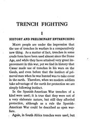 Cover of: Trench fighting | F. Haws Elliot