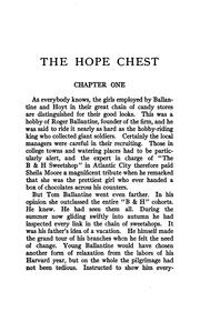 Cover of: The hope chest